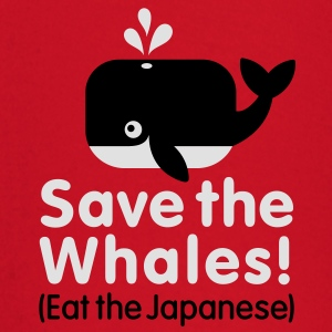 Save the Whales! Eat the Japanese Tee shirts - T-shirt manches longues Bébé
