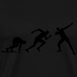Evolution Bolt  T-shirts - Herre premium T-shirt