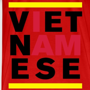 I AM VIETNAMESE 2 Tops - Men's Premium T-Shirt