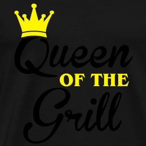Queen of the Grill Toppe - Herre premium T-shirt