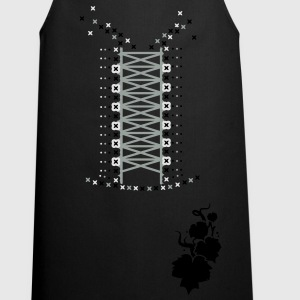 a vine in silhouette Tops - Cooking Apron