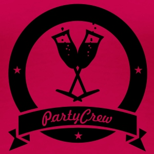 party crew (1c) Tops - Frauen Premium T-Shirt