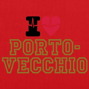 I LOVE PORTO VECCHIO Tops - Tote Bag