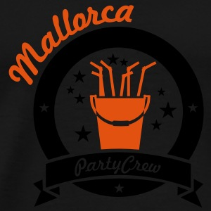 Mallorca party crew (2c) Tops - Männer Premium T-Shirt