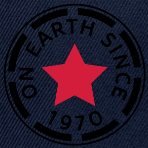 on earth since 1970 (no) Topper - Snapback-caps