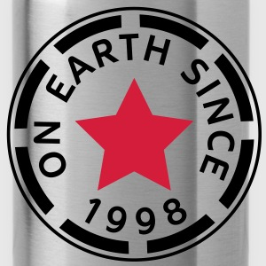 on earth since 1998 (no) Topper - Drikkeflaske