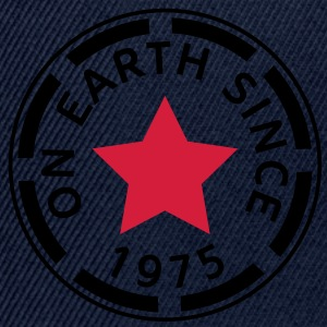 on earth since 1975 Tops - Snapback Cap