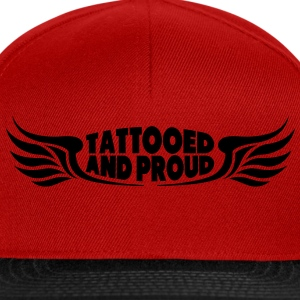 Tattooed and Proud - Wings Tops - Snapback Cap