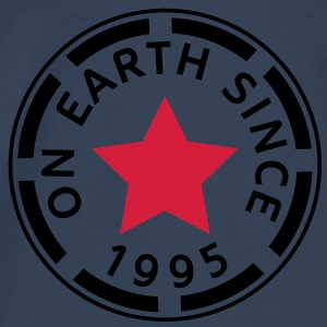 on earth since 1995 (sv) Toppar - Premium-T-shirt herr