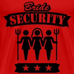 Bride Security, Tank Top - Men's Premium T-Shirt