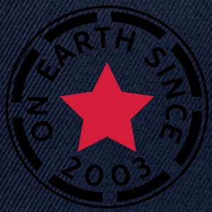 on earth since 2003 (sv) Toppar - Snapbackkeps