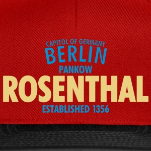 Capitol Of Germany Berlin - Rosenthal - Snapback Cap