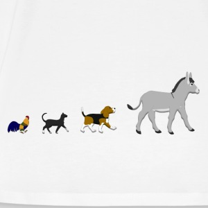 Dog, cat, cock, donkey Tops - Men's Premium T-Shirt