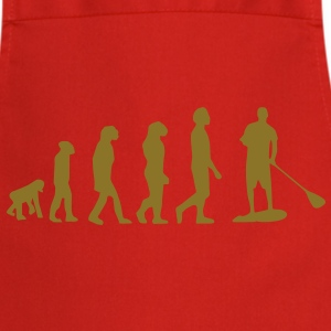 Evolution Sup, debout pour les enfants, surf, surf SUPEN, Stand up paddle surf T-shirts - Tablier de cuisine