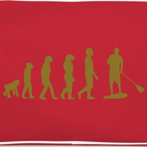 Evolution, Sup, standing paddling, surfing, surfing Supen, Stand up paddle surfing T-shirts - Retro Bag
