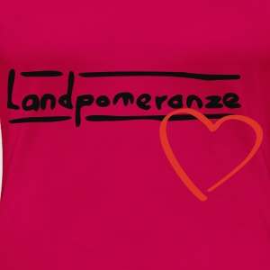 Landpomeranze - Top - Frauen Premium T-Shirt