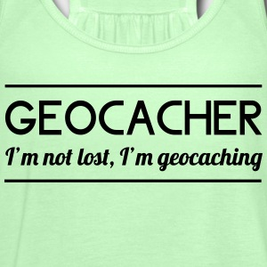 I'm Not Lost, I'm Geocaching T-Shirts - Women's Tank Top by Bella