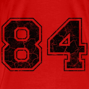Number 84 in the grunge look Tops - Men's Premium T-Shirt