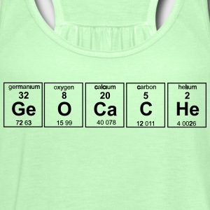 Geocache Periodic Elements T-Shirts - Women's Tank Top by Bella
