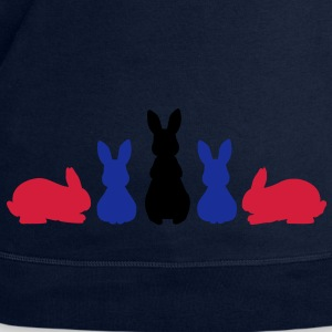 5 Rabbits shadow Tops - Men's Sweatshirt by Stanley & Stella