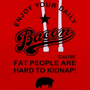 Bacon Again Shirts - Contrast Colour Hoodie