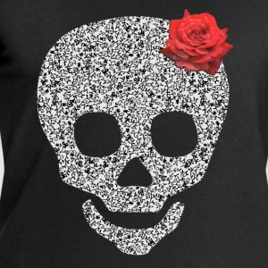 skull and rose Tops - Men's Sweatshirt by Stanley & Stella