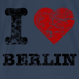 i_love_berlin_vintage_dark Tops - Mannen Premium T-shirt