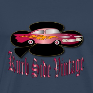 vintage automobile badge designer patjila Tops - Men's Premium T-Shirt