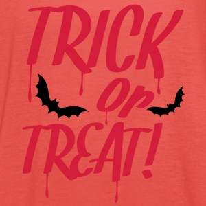 trick_or_treat_2c T-Shirts - Women's Tank Top by Bella