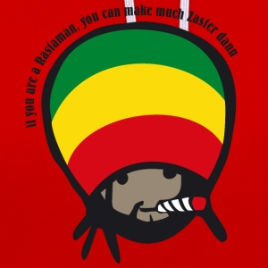 if you are a Rastaman T-Shirts - Contrast Colour Hoodie