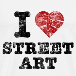i_love_streetart_vintage Tops - Men's Premium T-Shirt