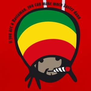 if you are a Rastaman T-Shirts - Kontrast-Hoodie