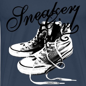 Sneaker Girl Tops - Men's Premium T-Shirt