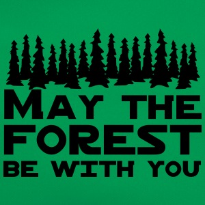 May the Forest Be With You T-Shirts - Retro Bag