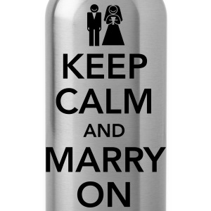 Keep calm and marry on Tops - Gourde