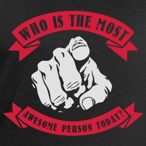 Who is the most awesome person today? YOU! Toppar - Sweatshirt herr från Stanley & Stella