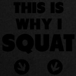 This Is Why I Squat Tops - Keukenschort