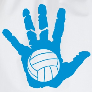 volleyball waterpolo main hand mano Tee shirts - Sac de sport léger