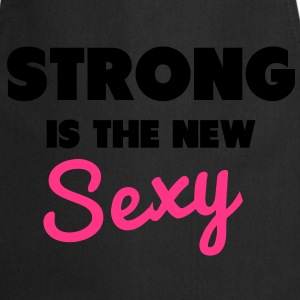 Strong Is the New Sexy Topy - Fartuch kuchenny