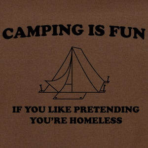 Camping Is Fun... T-Shirts - Shoulder Bag