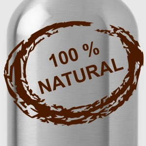 100 % Natural - Trinkflasche