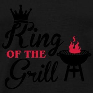 King of the Grill Toppe - Herre premium T-shirt