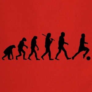 evolution of football T-Shirts - Cooking Apron