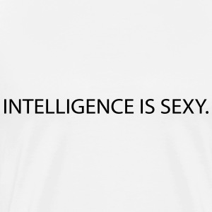 intelligence is sexy Tops - Men's Premium T-Shirt