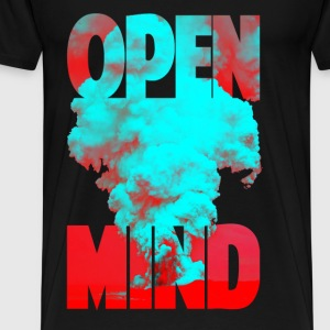 OPEN MIND Tops - Männer Premium T-Shirt