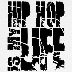 hip hop is my life T-Shirts - Baseballkappe