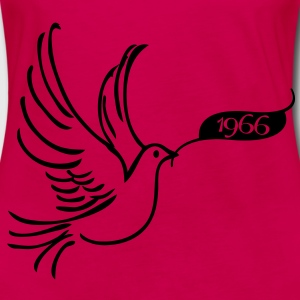 Peace dove with year 1966 Tops - Women's Premium Longsleeve Shirt