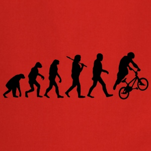 evolution of bmx T-Shirts - Cooking Apron