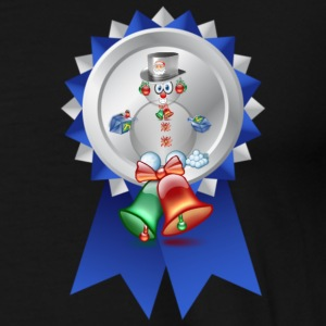 Snowman with candy suger cane Tops - Men's Premium T-Shirt