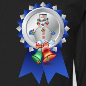 Snowman with candy suger cane Tops - Men's Premium Longsleeve Shirt